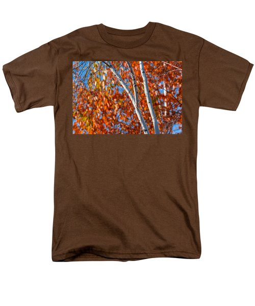 Men's T-Shirt  (Regular Fit) featuring the photograph Aspen by Sebastian Musial