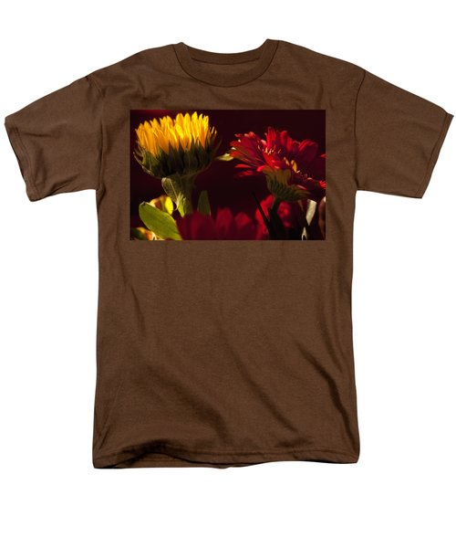 Asters In The Light Men's T-Shirt  (Regular Fit) by Andrew Soundarajan