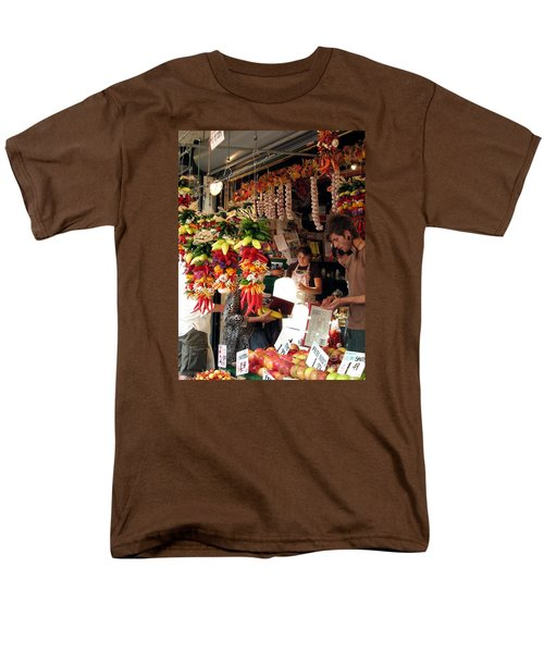 At The Market Men's T-Shirt  (Regular Fit) by Chris Anderson