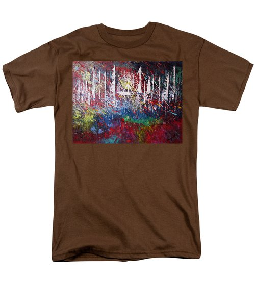 At The Top Men's T-Shirt  (Regular Fit) by George Riney