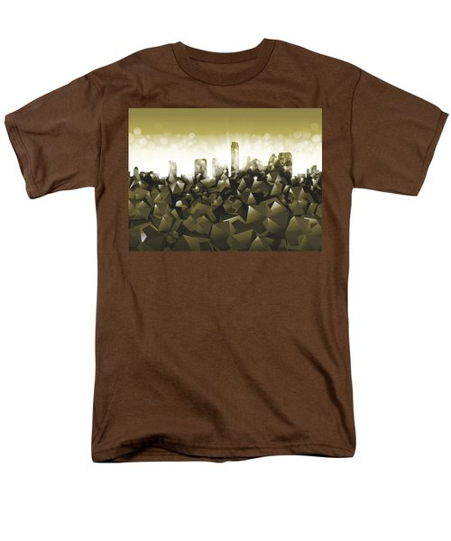 Austin Texas Geometry Men's T-Shirt  (Regular Fit)