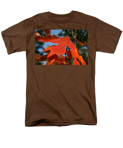 Men's T-Shirt  (Regular Fit) featuring the photograph Autumn Attention by Neal Eslinger