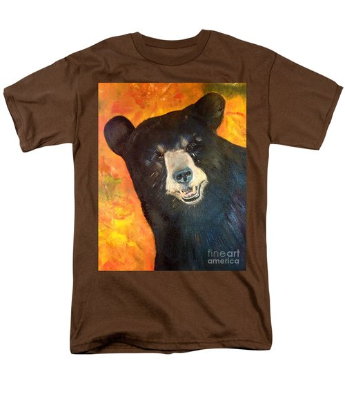 Autumn Bear Men's T-Shirt  (Regular Fit) by Jan Dappen