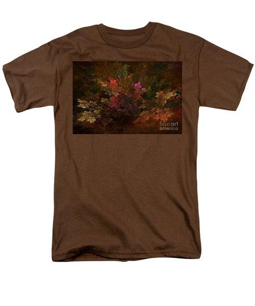 Men's T-Shirt  (Regular Fit) featuring the digital art Autumn Bouquet by Olga Hamilton