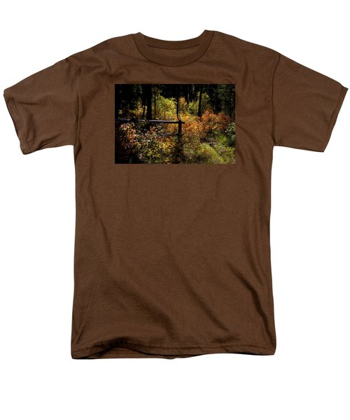 Men's T-Shirt  (Regular Fit) featuring the photograph Autumn Colors 3 by Newel Hunter