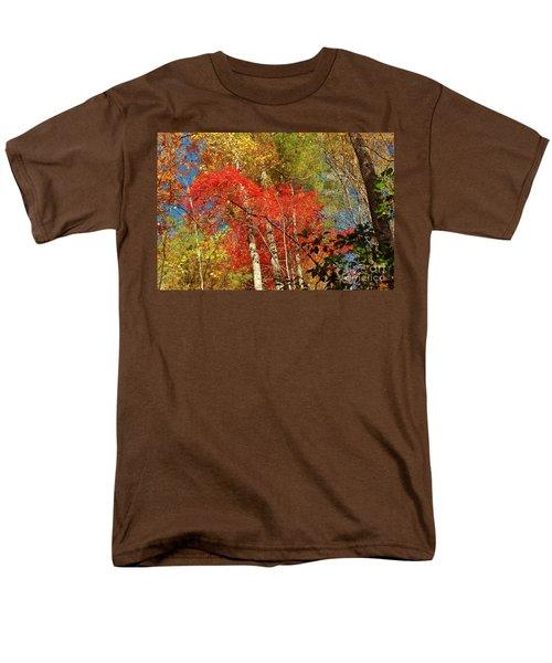 Men's T-Shirt  (Regular Fit) featuring the photograph Autumn Colors by Patrick Shupert