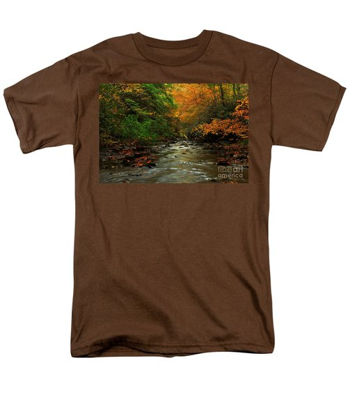 Autumn Creek Men's T-Shirt  (Regular Fit)