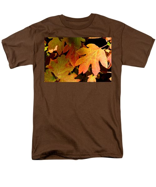 Autumn Hues Men's T-Shirt  (Regular Fit) by Living Color Photography Lorraine Lynch