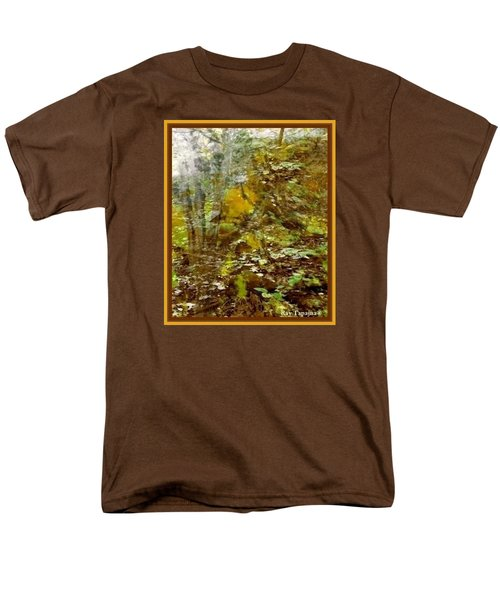 Men's T-Shirt  (Regular Fit) featuring the mixed media Autumn Impressions by Ray Tapajna