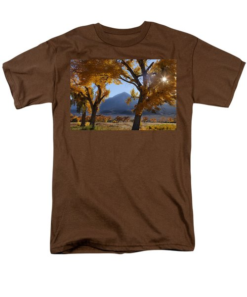 Autumn In The Mountains Men's T-Shirt  (Regular Fit) by Andrew Soundarajan