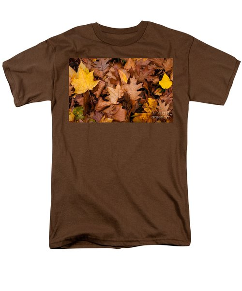 Men's T-Shirt  (Regular Fit) featuring the photograph Autumn Leaves by Matt Malloy