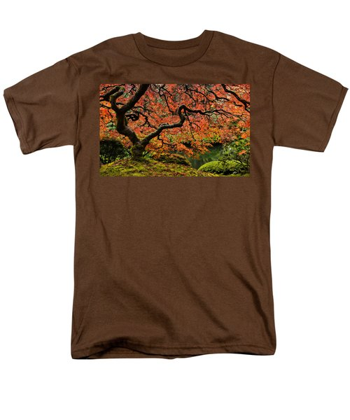 Autumn Magnificence Men's T-Shirt  (Regular Fit) by Don Schwartz