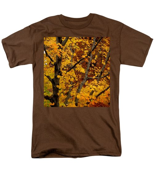 Autumn Moods 21 Men's T-Shirt  (Regular Fit) by Rodney Lee Williams