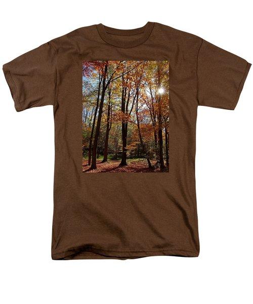 Men's T-Shirt  (Regular Fit) featuring the photograph Autumn Picnic by Debbie Oppermann