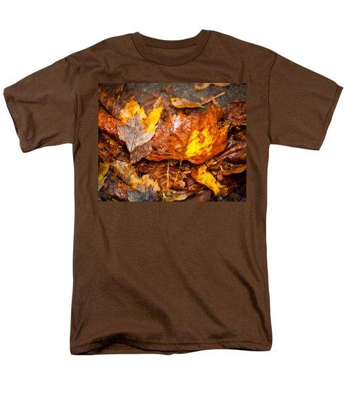 Autumn Pile Men's T-Shirt  (Regular Fit) by Melinda Ledsome