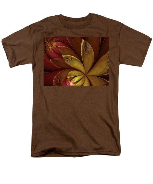 Men's T-Shirt  (Regular Fit) featuring the digital art Autumn Plant by Gabiw Art