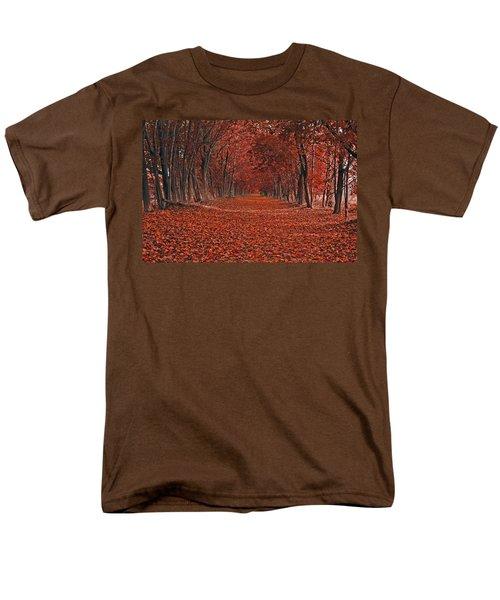 Men's T-Shirt  (Regular Fit) featuring the photograph Autumn by Raymond Salani III