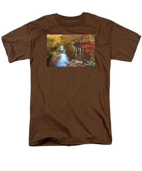 Autumn Reflection Men's T-Shirt  (Regular Fit)