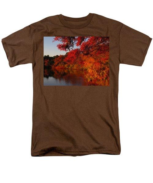 Men's T-Shirt  (Regular Fit) featuring the photograph Autumn Splendor  by Dianne Cowen