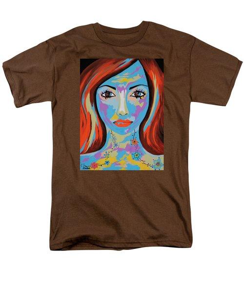 Men's T-Shirt  (Regular Fit) featuring the painting Avani by Kathleen Sartoris