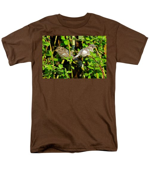 Babies Afraid To Fly Men's T-Shirt  (Regular Fit) by Frozen in Time Fine Art Photography
