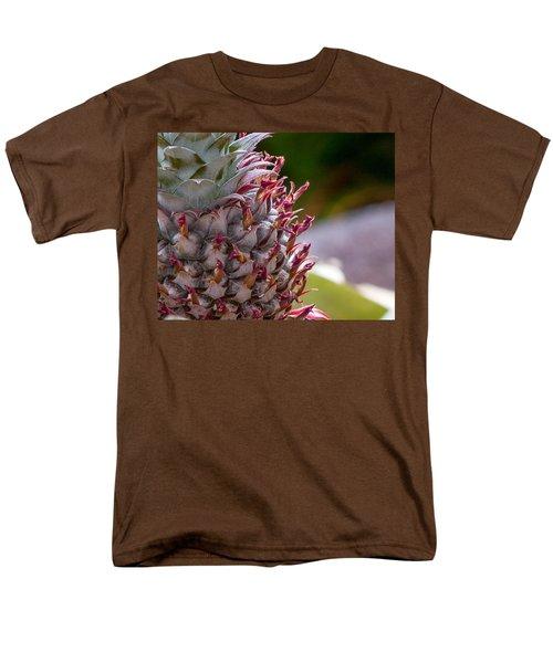 Baby White Pineapple Men's T-Shirt  (Regular Fit) by Denise Bird
