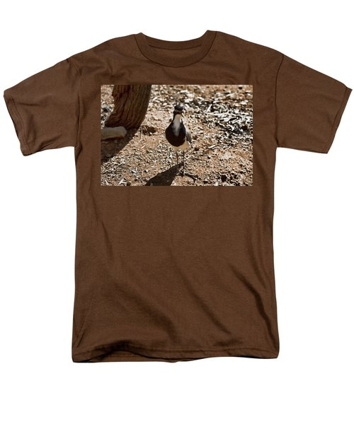 Banded Lapwing Men's T-Shirt  (Regular Fit) by Douglas Barnard