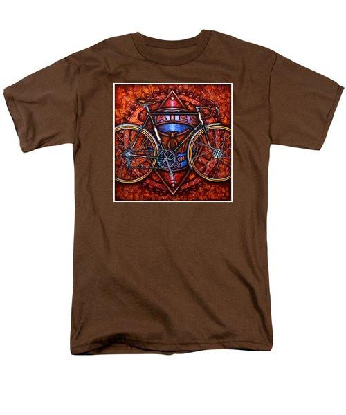 Bates Bicycle Men's T-Shirt  (Regular Fit) by Mark Jones