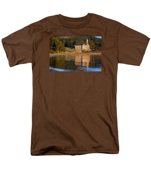 Men's T-Shirt  (Regular Fit) featuring the photograph Bathed In Gods Light by Wendy Wilton