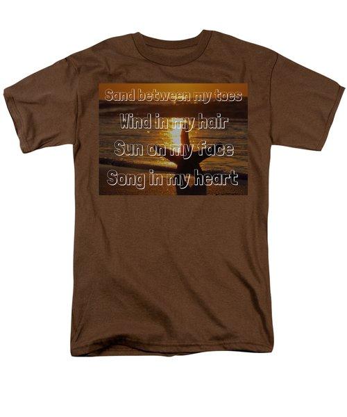 Men's T-Shirt  (Regular Fit) featuring the photograph Beach Life by Nikki McInnes