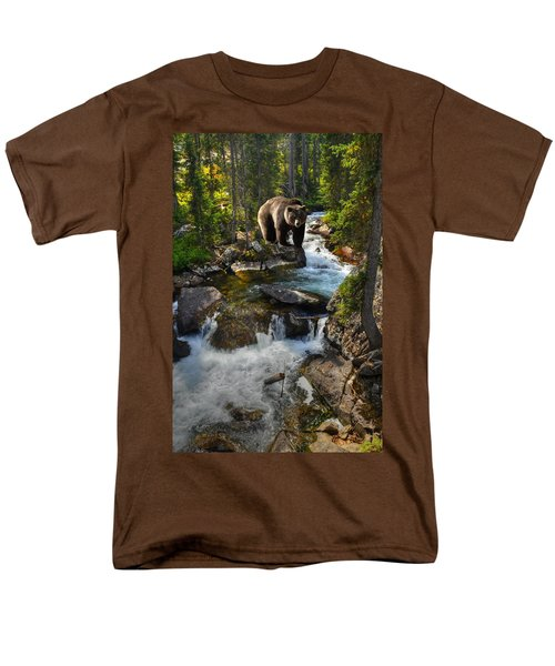 Bear Necessity Men's T-Shirt  (Regular Fit) by Ken Smith