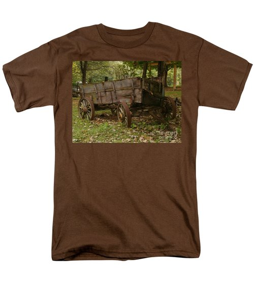Men's T-Shirt  (Regular Fit) featuring the photograph Beaten By Time by Sara  Raber