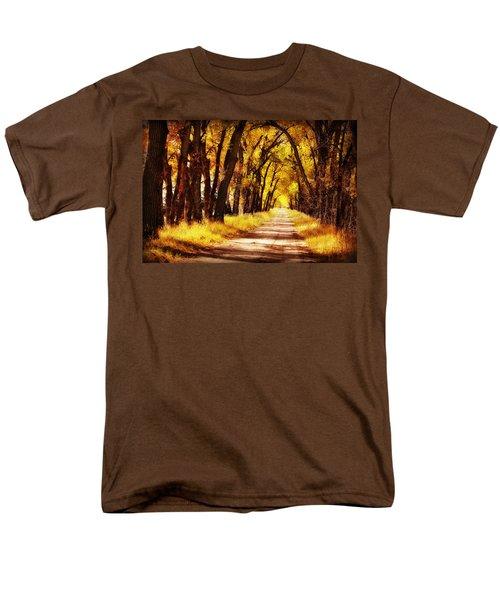 Beautiful Fall Day In Nebraska Men's T-Shirt  (Regular Fit)