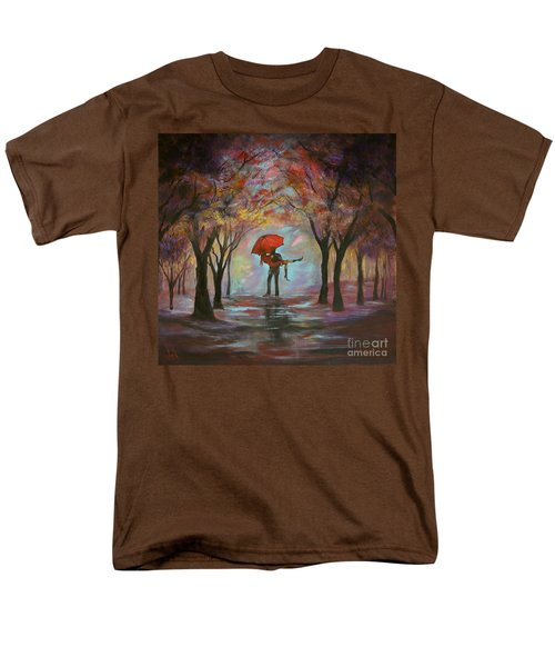 Beautiful Romance Men's T-Shirt  (Regular Fit) by Leslie Allen