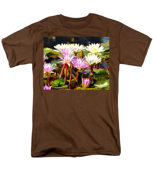 Men's T-Shirt  (Regular Fit) featuring the photograph Beauty On The Water by Marty Koch