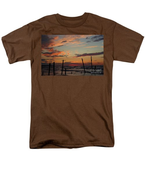 Men's T-Shirt  (Regular Fit) featuring the photograph Beyond The Border by Barbara McMahon