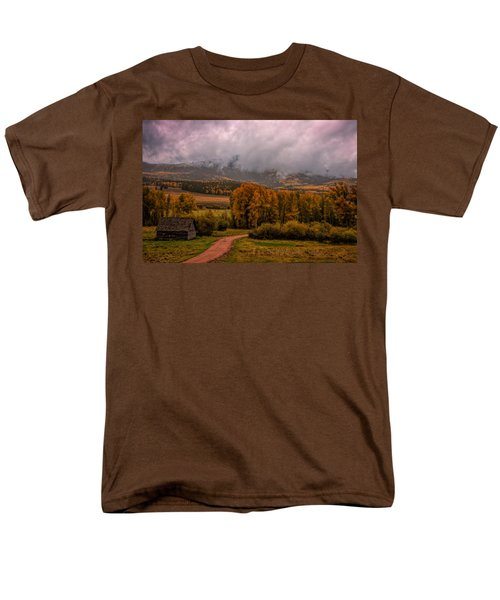 Men's T-Shirt  (Regular Fit) featuring the photograph Beyond The Road by Ken Smith