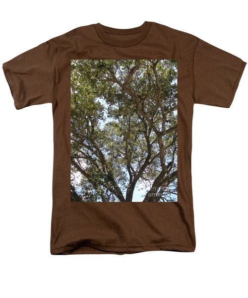 Big Oak Tree Men's T-Shirt  (Regular Fit) by Joseph Baril
