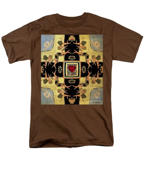 Men's T-Shirt  (Regular Fit) featuring the drawing Big Sur Party X 4 by Joseph J Stevens