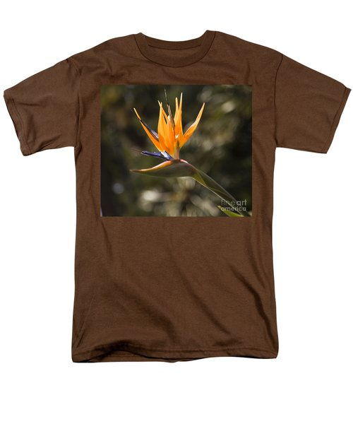 Bird Of Paradise Men's T-Shirt  (Regular Fit) by David Millenheft