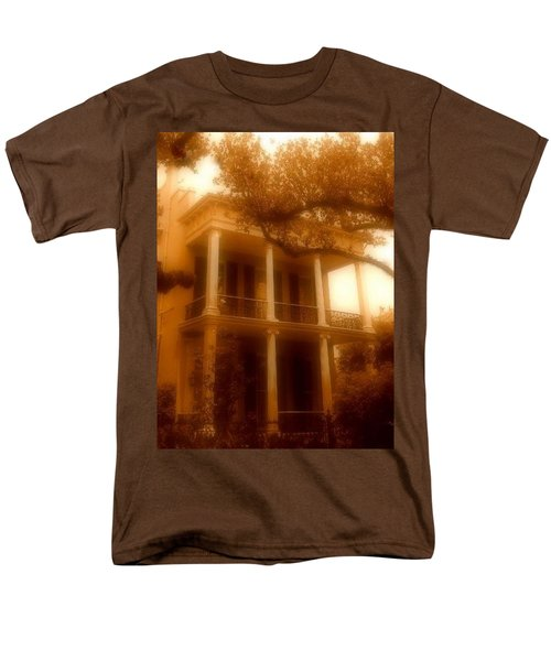 Birthplace Of A Vampire In New Orleans, Louisiana Men's T-Shirt  (Regular Fit) by Michael Hoard