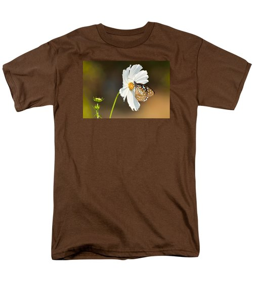 Black And White Men's T-Shirt  (Regular Fit) by Fotosas Photography