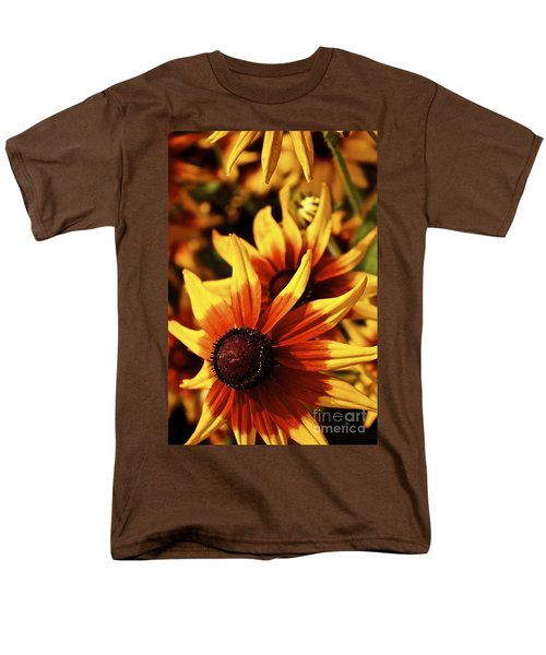 Men's T-Shirt  (Regular Fit) featuring the photograph Black Eyed Susan by Linda Bianic