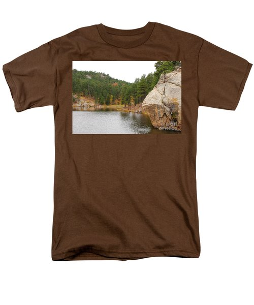 Men's T-Shirt  (Regular Fit) featuring the photograph Black Hills Lake by Mary Carol Story