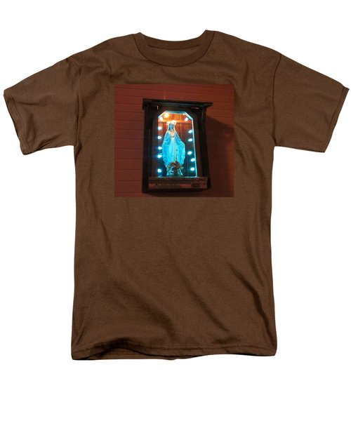 Blessed Mary - New Orleans La - Www.rocknbowl.com Men's T-Shirt  (Regular Fit) by Deborah Lacoste