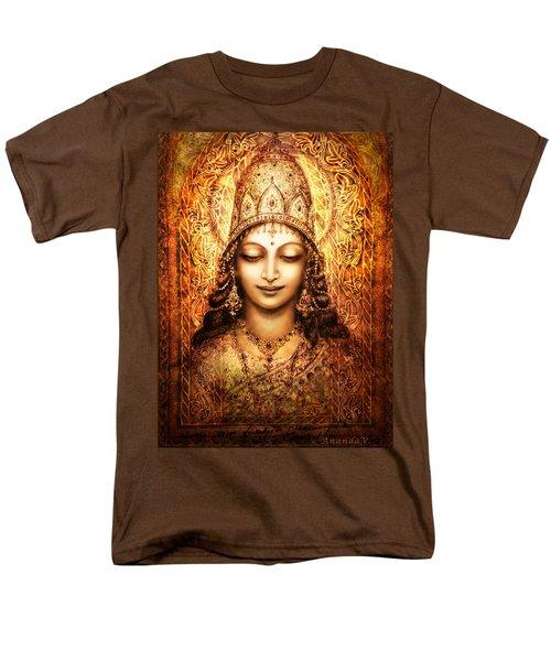 Blissful Goddess Men's T-Shirt  (Regular Fit) by Ananda Vdovic