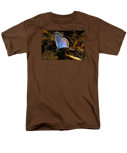 Men's T-Shirt  (Regular Fit) featuring the photograph Blue Angel by Janice Westerberg