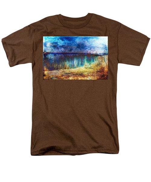Blue Shore Men's T-Shirt  (Regular Fit) by Randi Grace Nilsberg