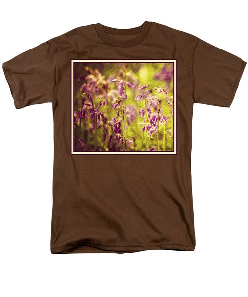 Bluebell In The Woods Men's T-Shirt  (Regular Fit) by Spikey Mouse Photography