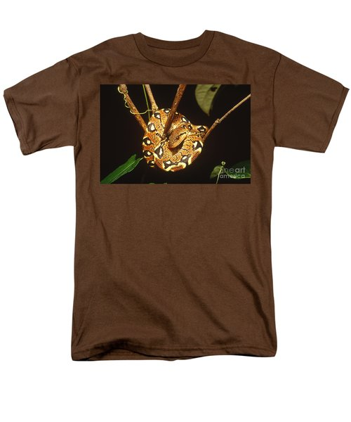 Boa Constrictor Men's T-Shirt  (Regular Fit) by Art Wolfe